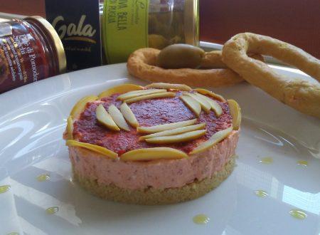 Cheescake salata con gli eccezzionali prodotti di @galafood